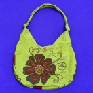 Flower Burst Shoulder Bag