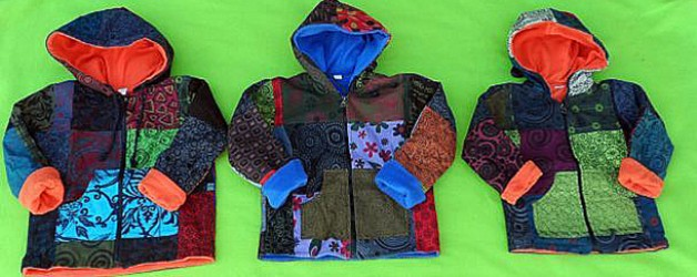 Just In: Fleece Lined Patchwork Jackets