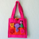Square Finger Puppet Bag
