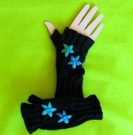 Archimedes-ProdutPage-Gloves-Black-Ribbed-Fingerless-1
